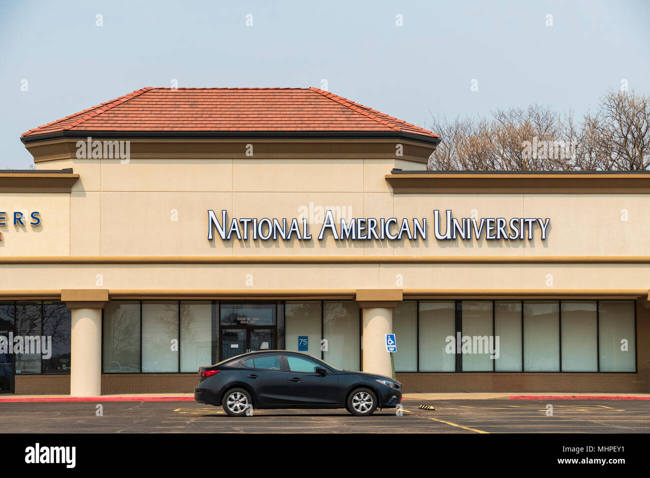 Exterior Of National American University Specializing In Business