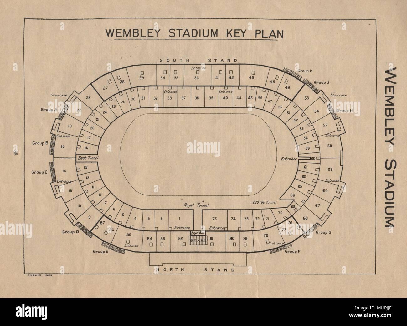 Old Wembley Stadium Stock Photos Amp Old Wembley Stadium