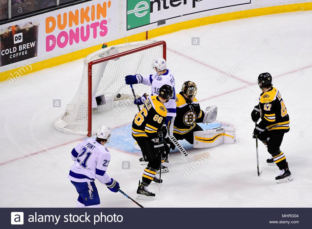 boston mass 2nd may 2018 tampa bay lightning left wing ondrej