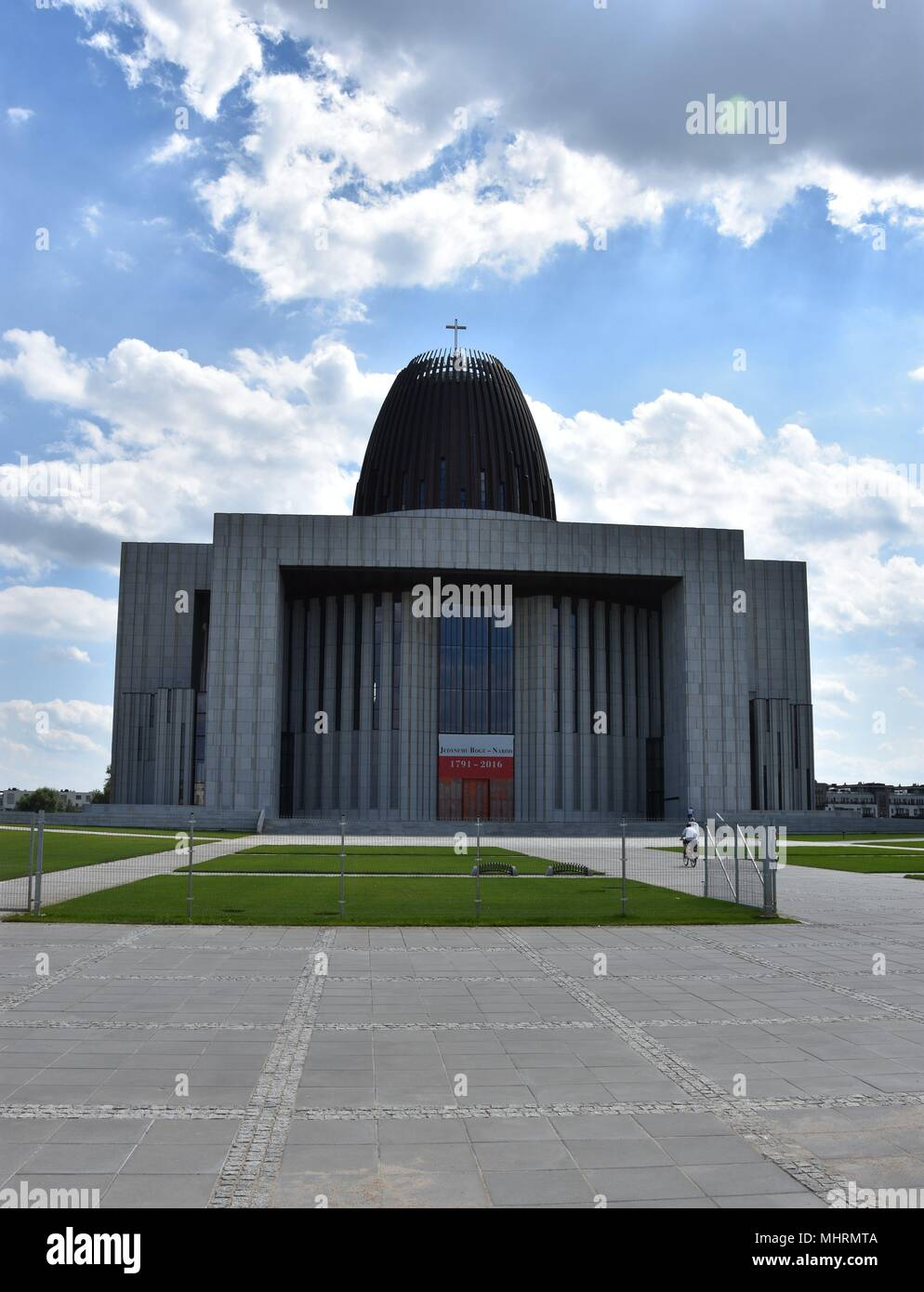Warsaw, Poland. 5th Aug, 2017. August 05.2017 Warsaw The Polish Temple of Divine Providence in Warsaw is one of the largest sacral buildings. Construction is still going on Credit: Piotr Twardysko/ZUMA Wire/Alamy Live News - Stock Image