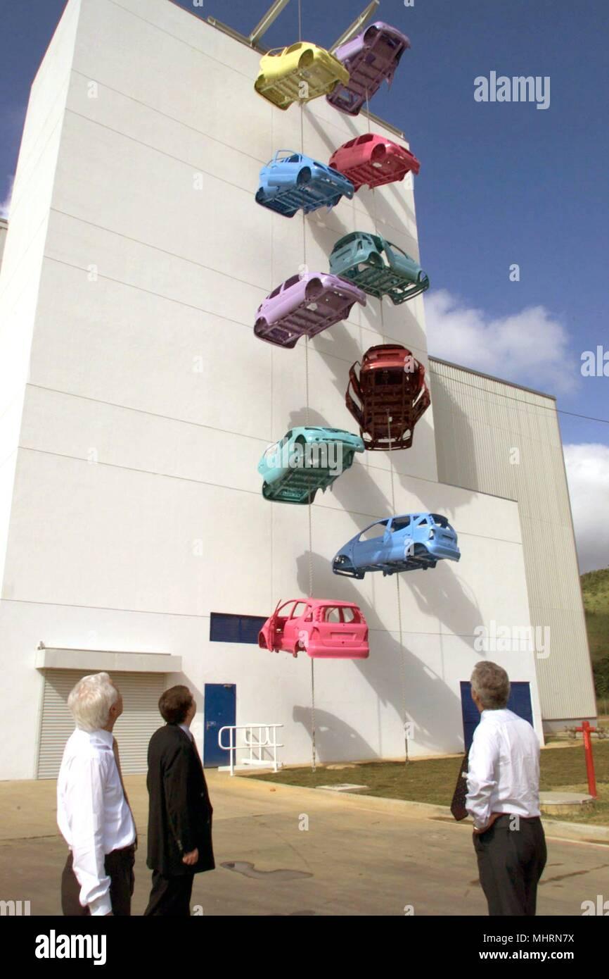 At The New DaimlerChrysler Plant In Brazilian Town Of Juiz De Fora