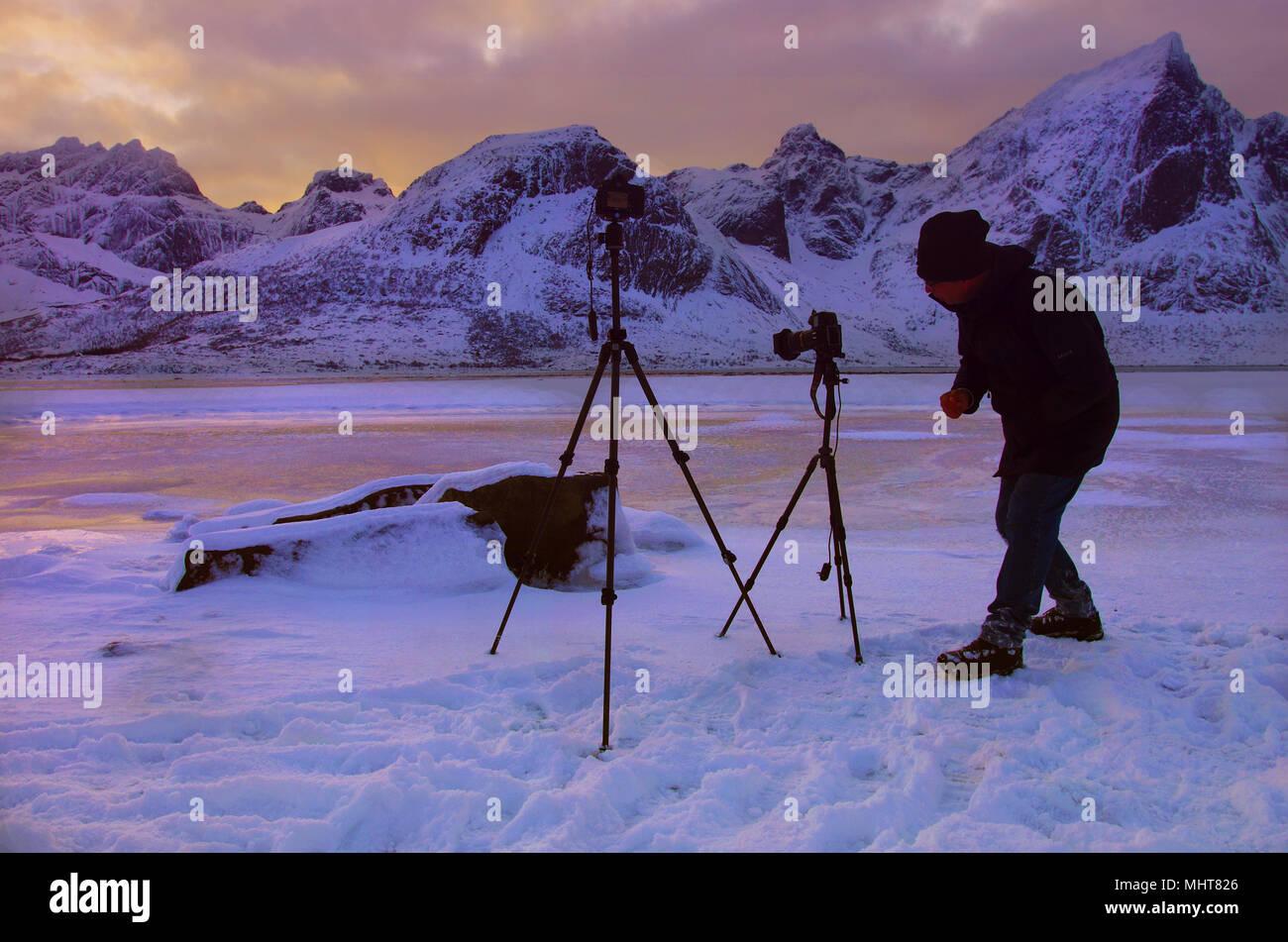 North pole - Stock Image