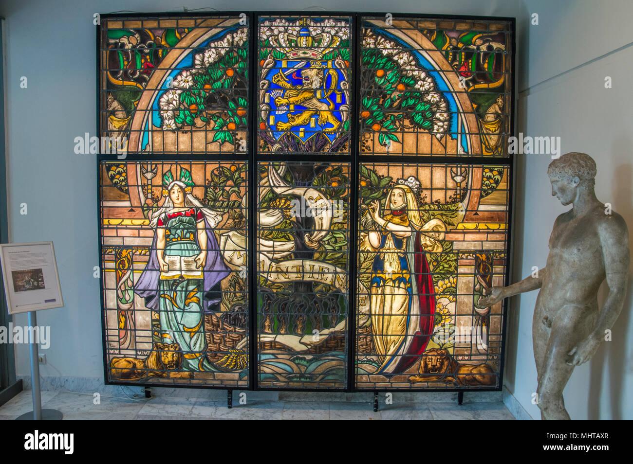Glas In Lood Amsterdam.Jan Schouten Glas In Lood Stained Glass At The Allard