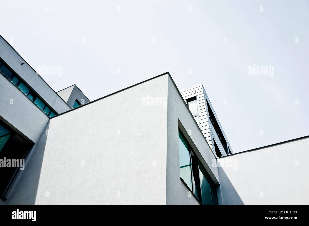 abstract graphical modern architecture detail Stock Photo