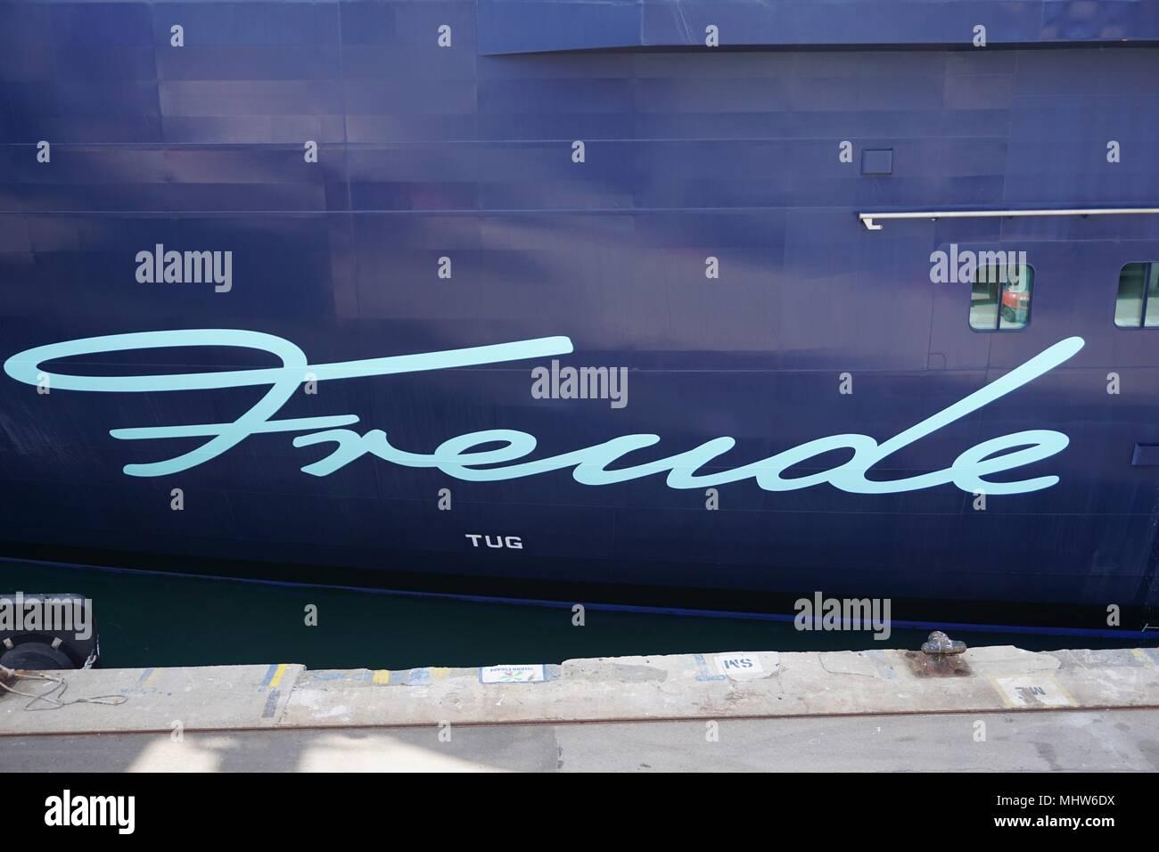 cruise ship Mein Schiff 6 TUI cruises - Stock Image