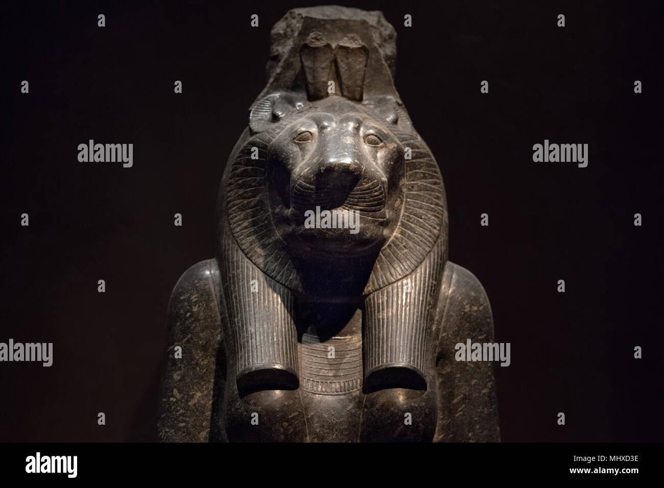 Sekhmet Lion Godddes Egyptian Gods Dead Religion Symbol Stone Statue