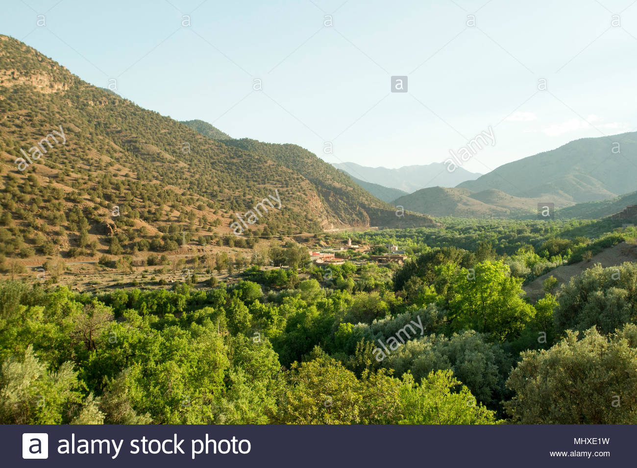 Berber Village View From TinMal Mosque High Atlas Mountains Southern Morocco 2015 10 23 Finished By Abd El Moumen Around 1153 54 Tinmil Means