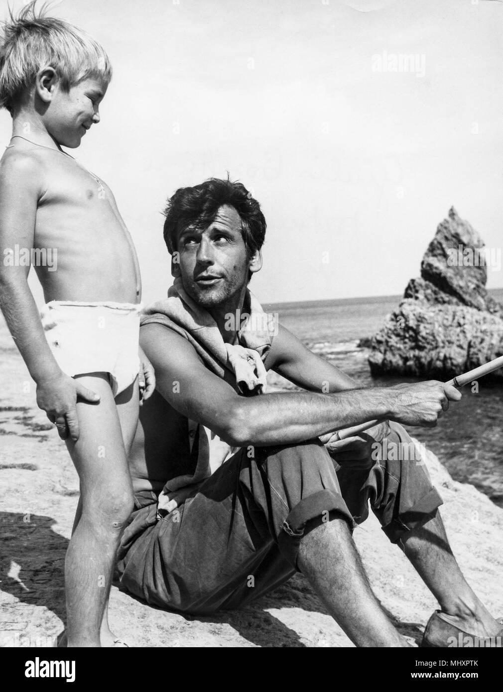 giulio bosetti, fortunato marsala, un amico, 1968 - Stock Image