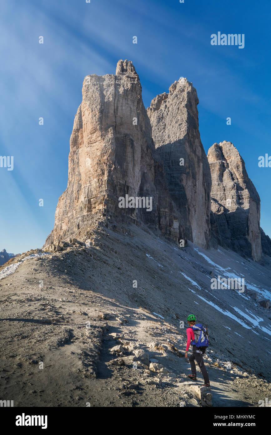 Dolomites near Cortina d'Ampezzo, Veneto, Italy - Stock Image