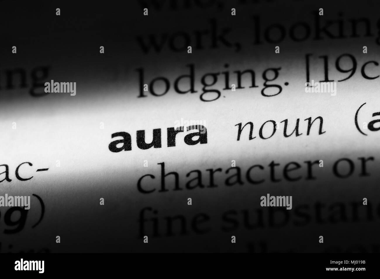 Aura Black and White Stock Photos & Images - Alamy