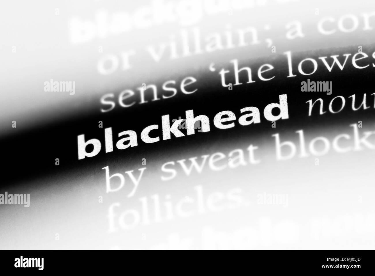 A Blackhead Stock Photos & A Blackhead Stock Images - Alamy