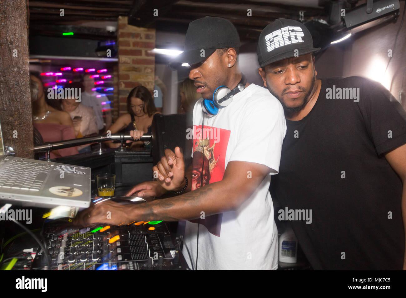 The Dixon Brothers Kiss FM DJS performance in Maidstone Club Banks