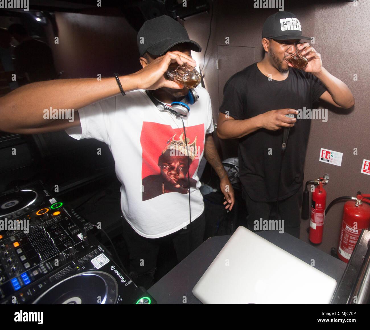 The Dixon Brothers Kiss FM DJS performance in Maidstone Club