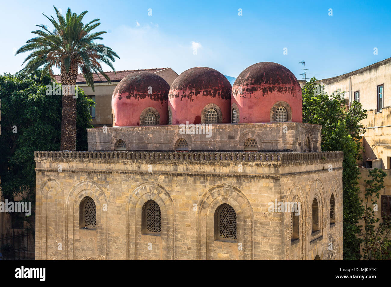 Palermo, Sicily, San Cataldo church - Stock Image