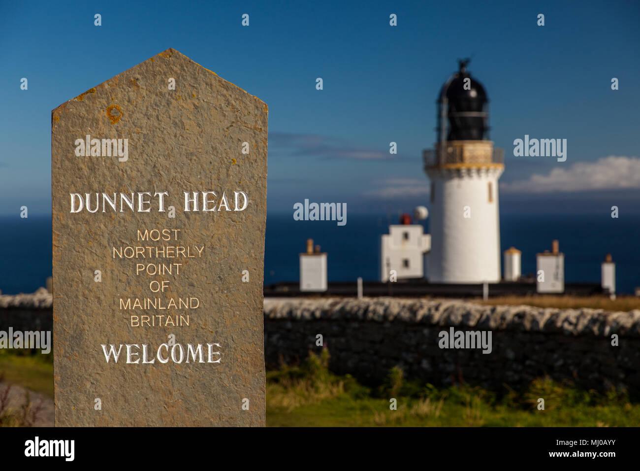 Dunnet Head - Stock Image
