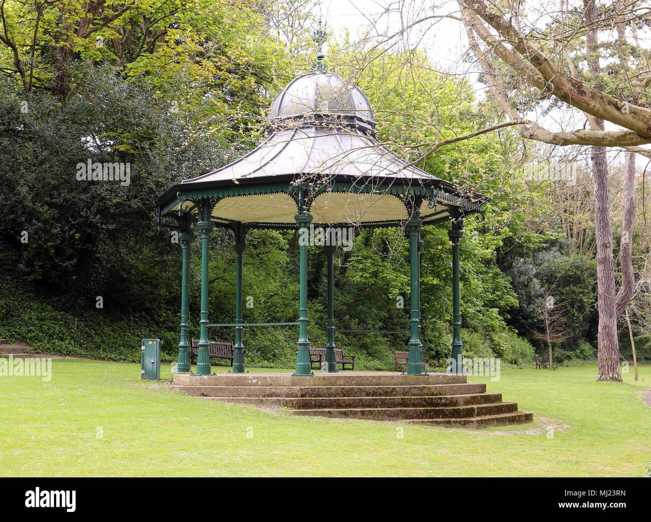 Ventnor Park Bandstand - Stock Image