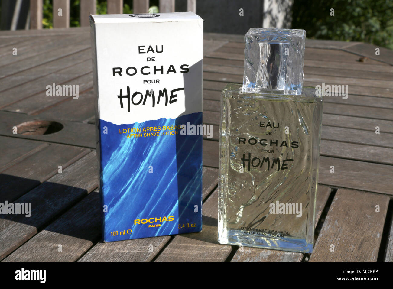 Shaving & Hair Removal 100 Ml After Shave Eau De Rochas Pour Homme vintage