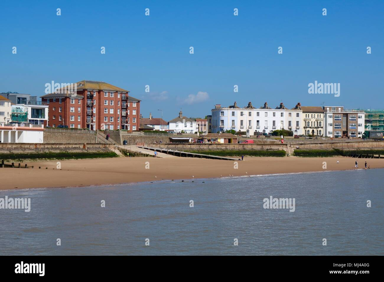 Walton on the Naze, Essex, UK  4th May 2018  UK Weather