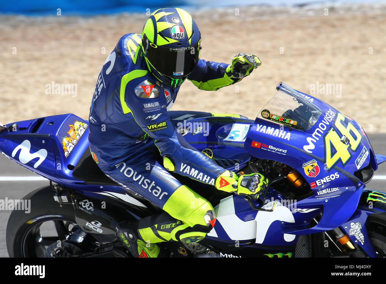 Valentino Rossi Honda Stock Photos & Valentino Rossi Honda Stock Images - Alamy