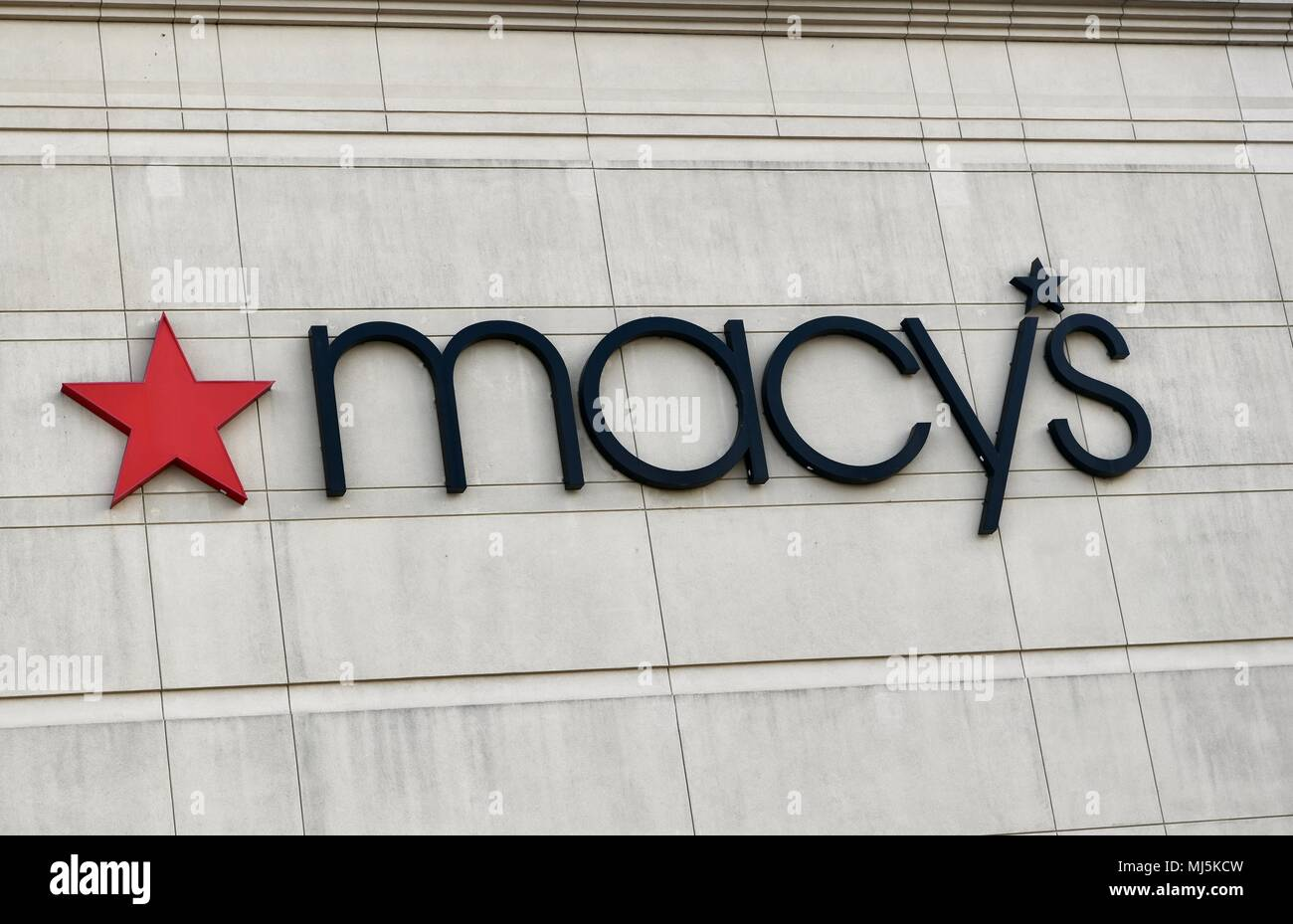 Macys Department Store In Columbia Md Usa Stock Photo 183292505