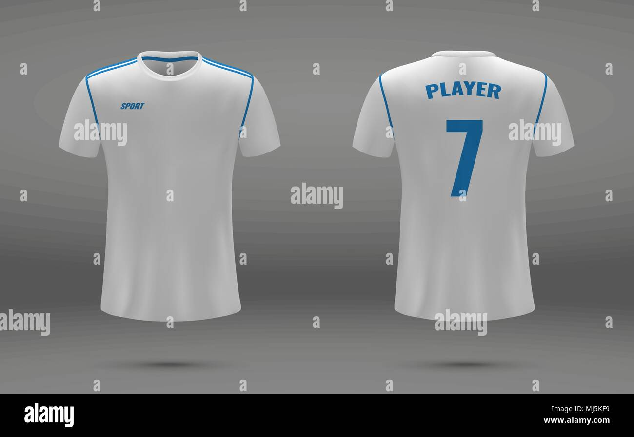 4221510a5 Realistic soccer jersey