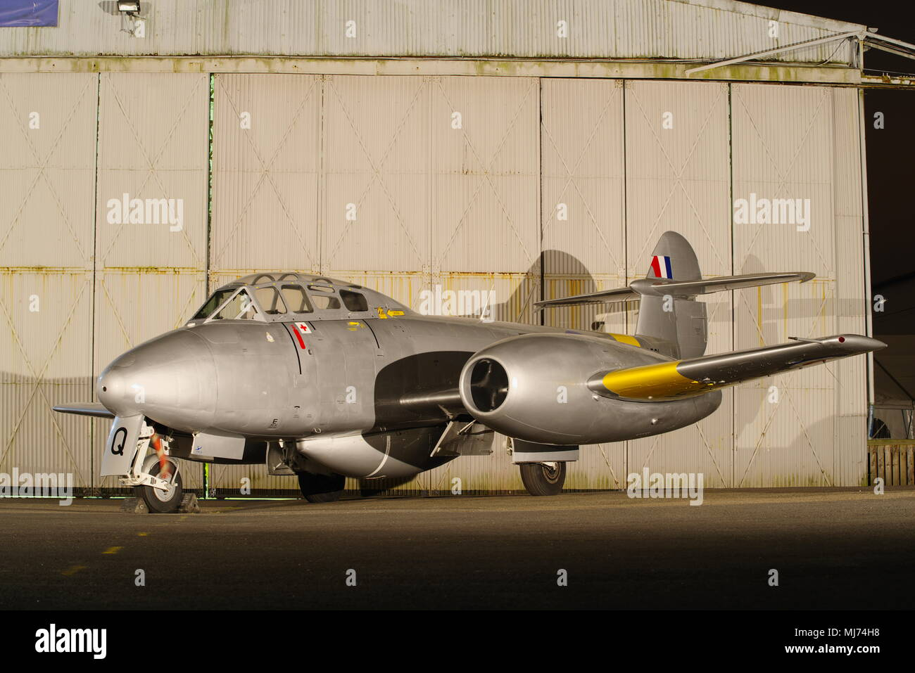 Gloster Meteor T7 - Stock Image