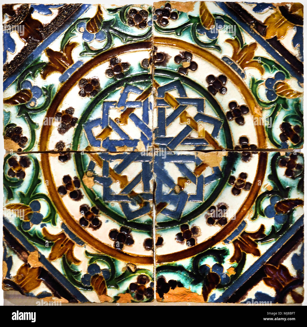 Arista Technique Seville 1500-1510 16th Century Spain Spanish - Stock Image