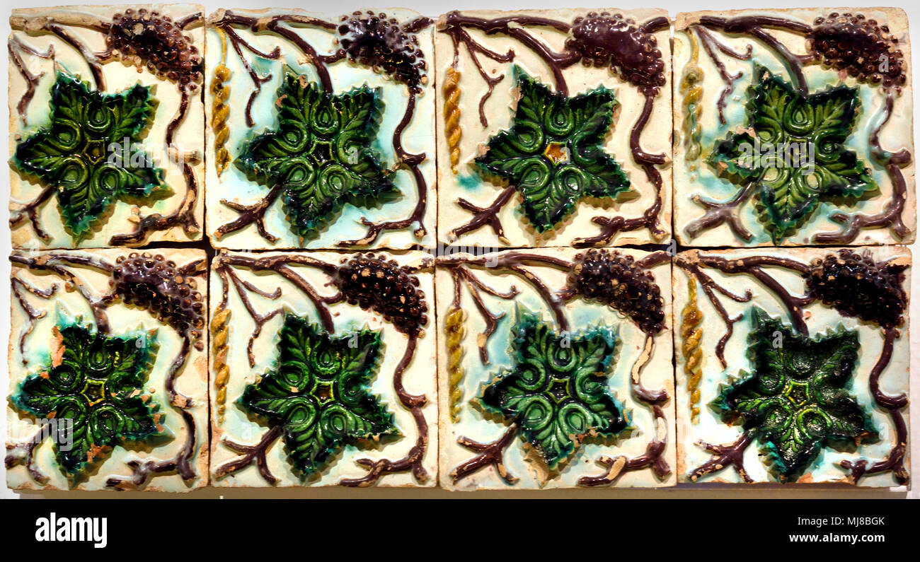 Moulded Technique Seville 1500-1510 Spain Spanish - Stock Image
