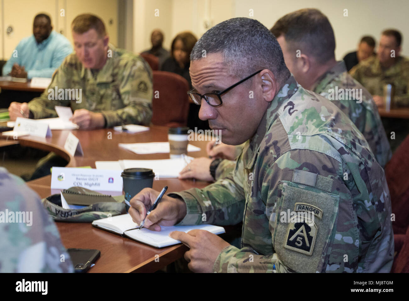 Col Christopher Baril Us Army North Exercise Branch Chief Holds