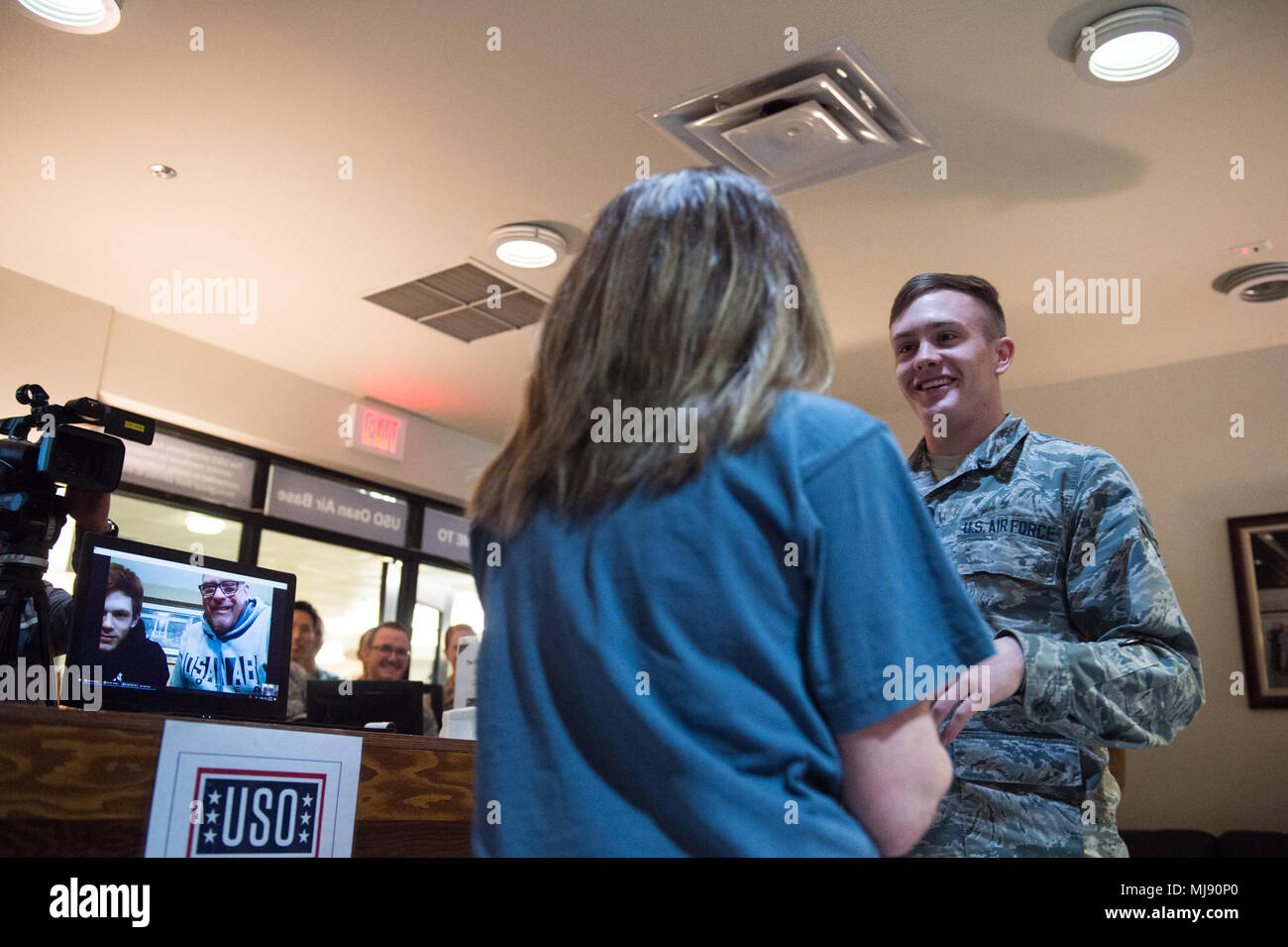 His Mother Surprises Him By Coming Out During A Uso Operation