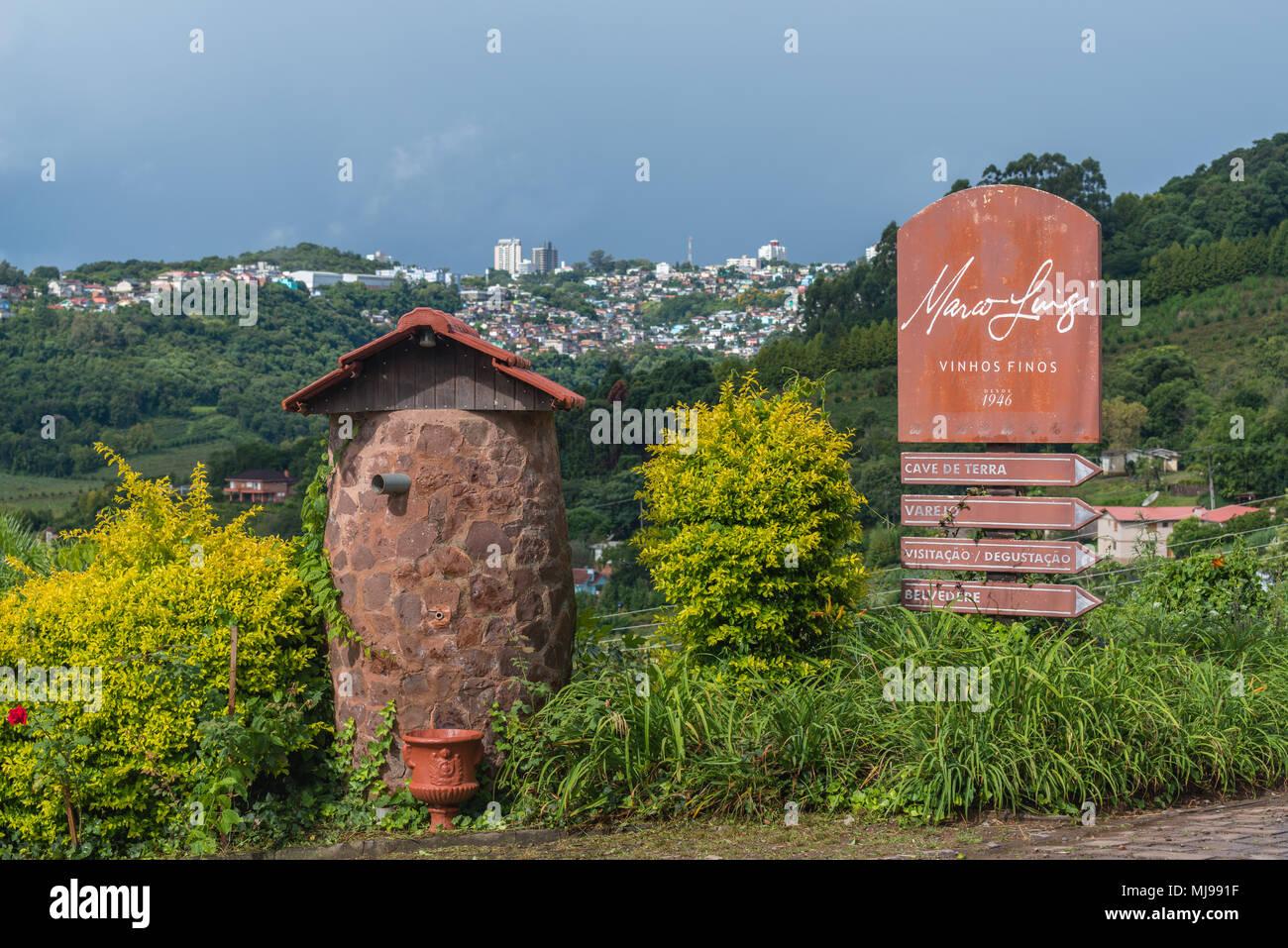 Bento Gonçalves Rio Grande do Sul fonte: c8.alamy.com