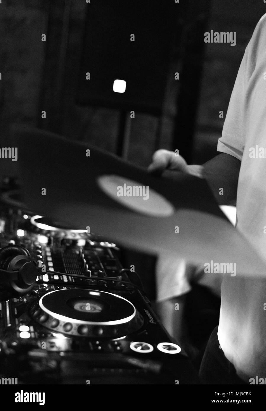 DJ - Stock Image