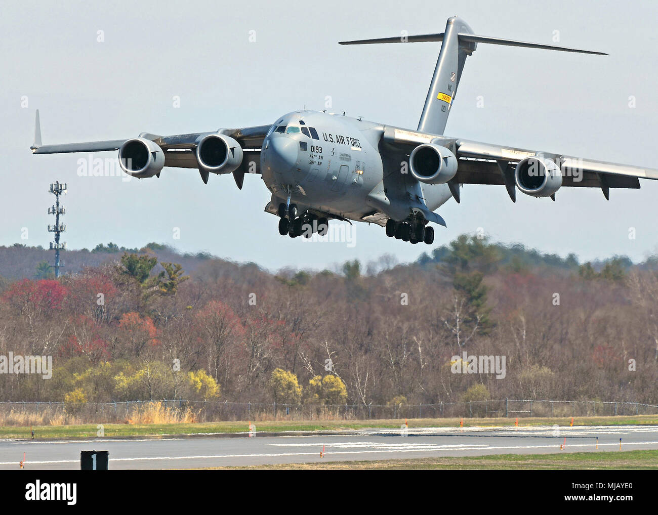 A C 17 Globemaster Iii With The 437th Airlift Wing At Charleston Air