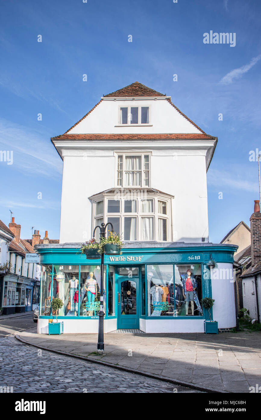 Thame in Oxfordshire street scenes and buildings - Stock Image
