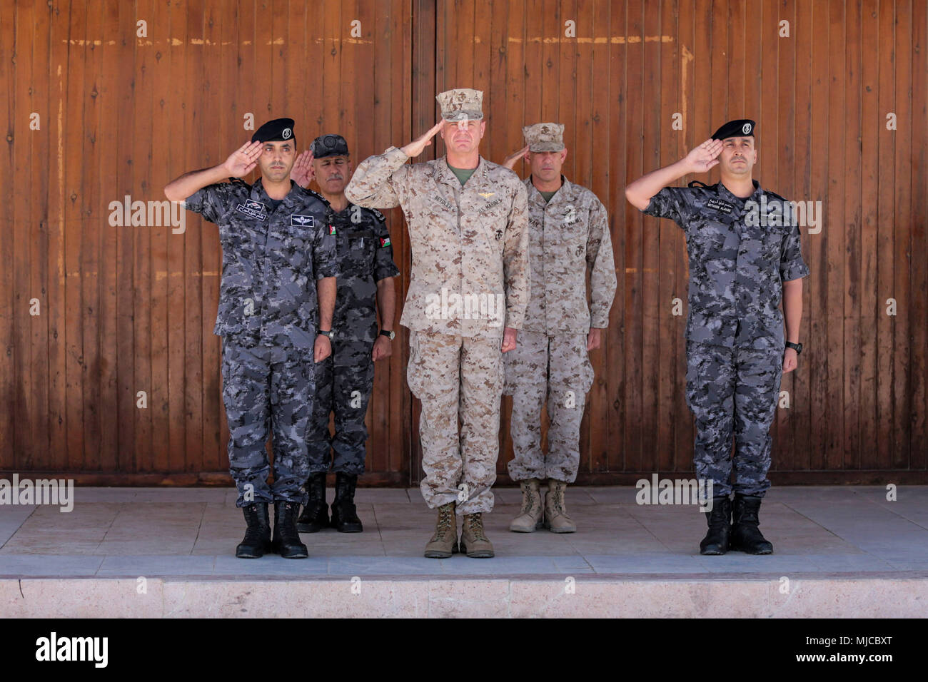 info for e030d 32d92 ROYAL JORDANIAN NAVAL BASE, Jordan - U.S. Marine Lt. Gen. William D.  Beydler (center, left), commander of Marine Corps Forces – Central Command,  and Brig.