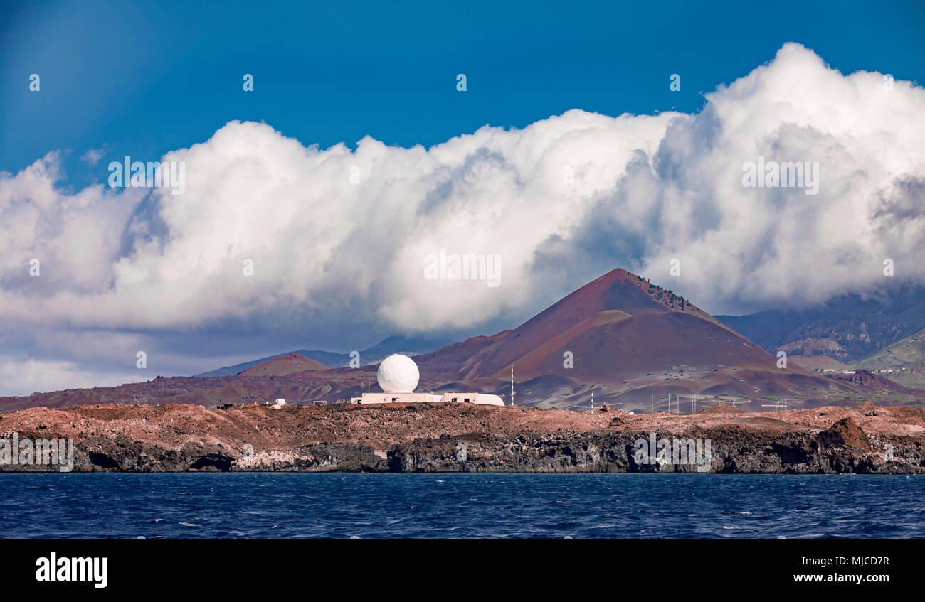 ascencion, a remote little Island in the middle of the atlantic ocean Stock Photo