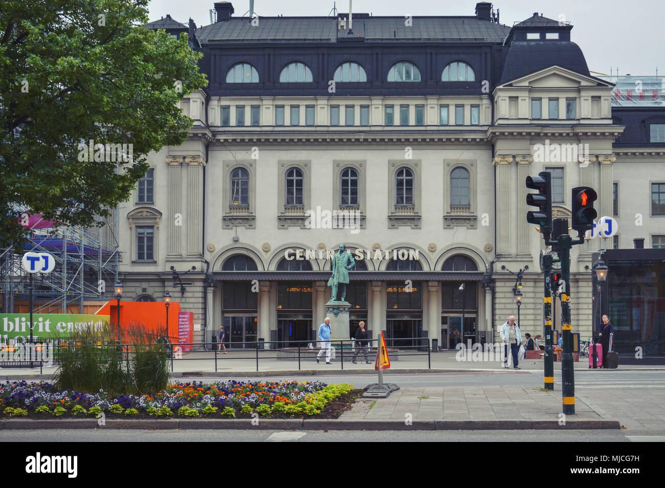 Stockholm Central Station, a railway station in Stockholm, Sweden ...