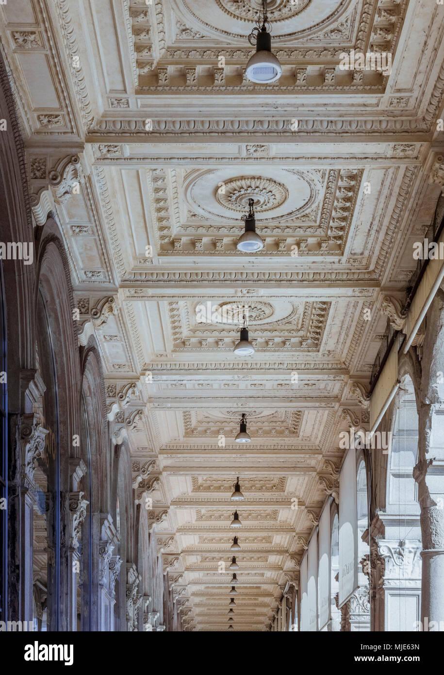 Galleria Vittorio Emanuele Ii Exterior Stock Photos