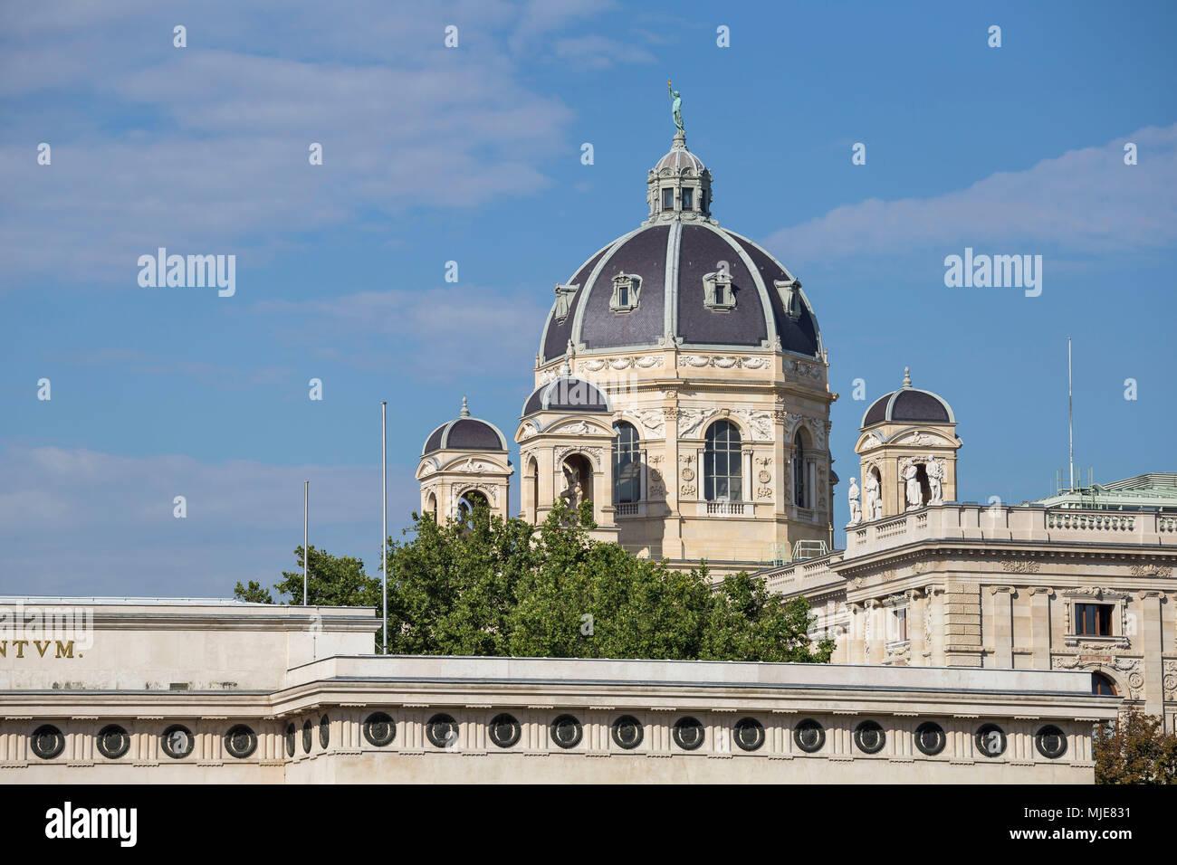 Naturhistorisches Museum, Vienna, Austria, Europe - Stock Image
