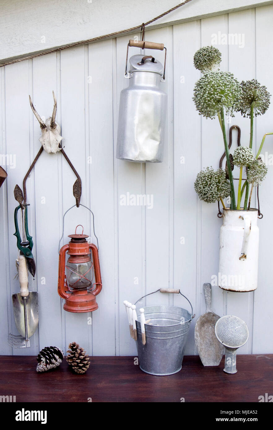 Decoration with different props - Stock Image