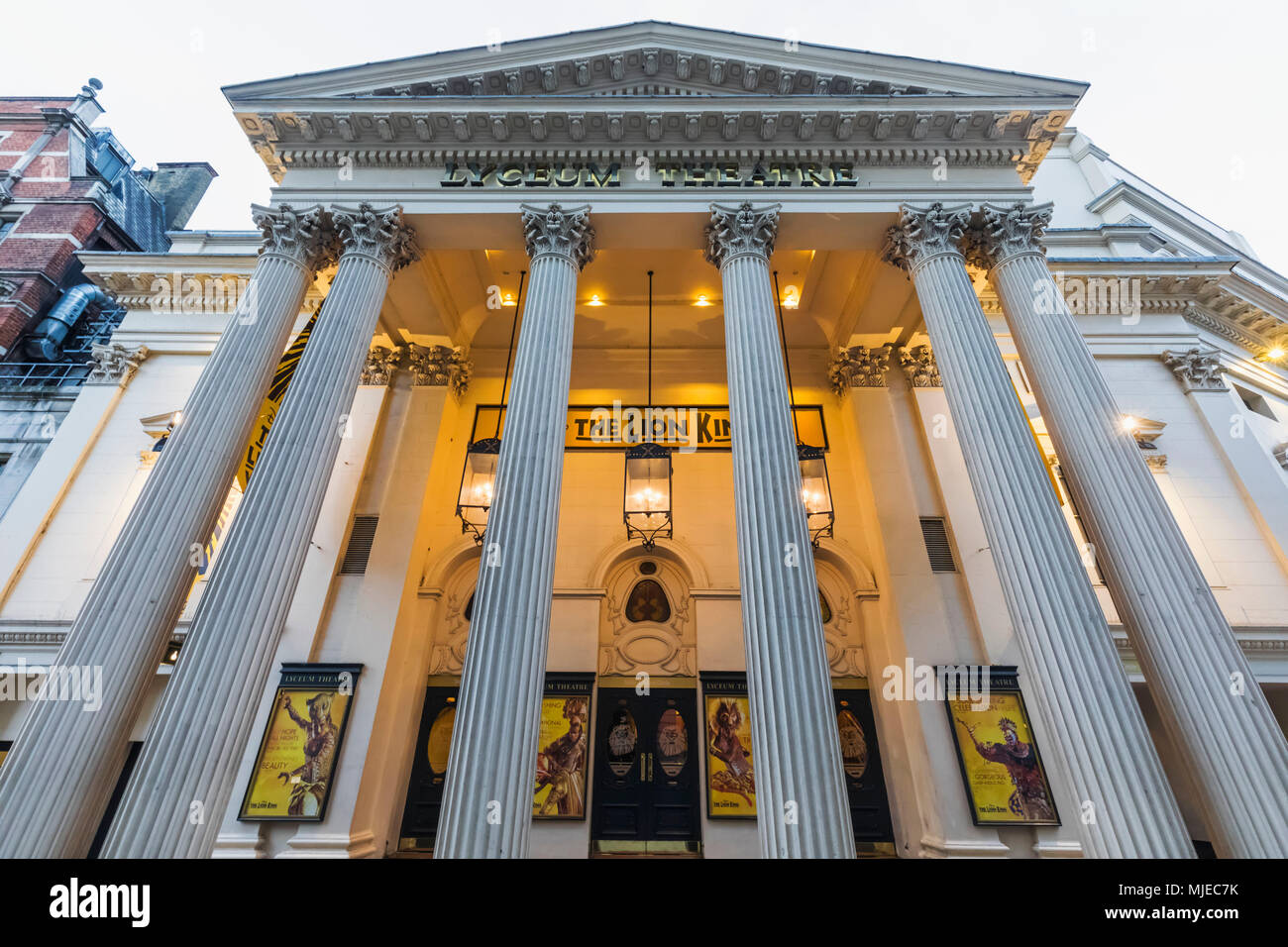 England, London, Westend, Lyceum Theatre - Stock Image