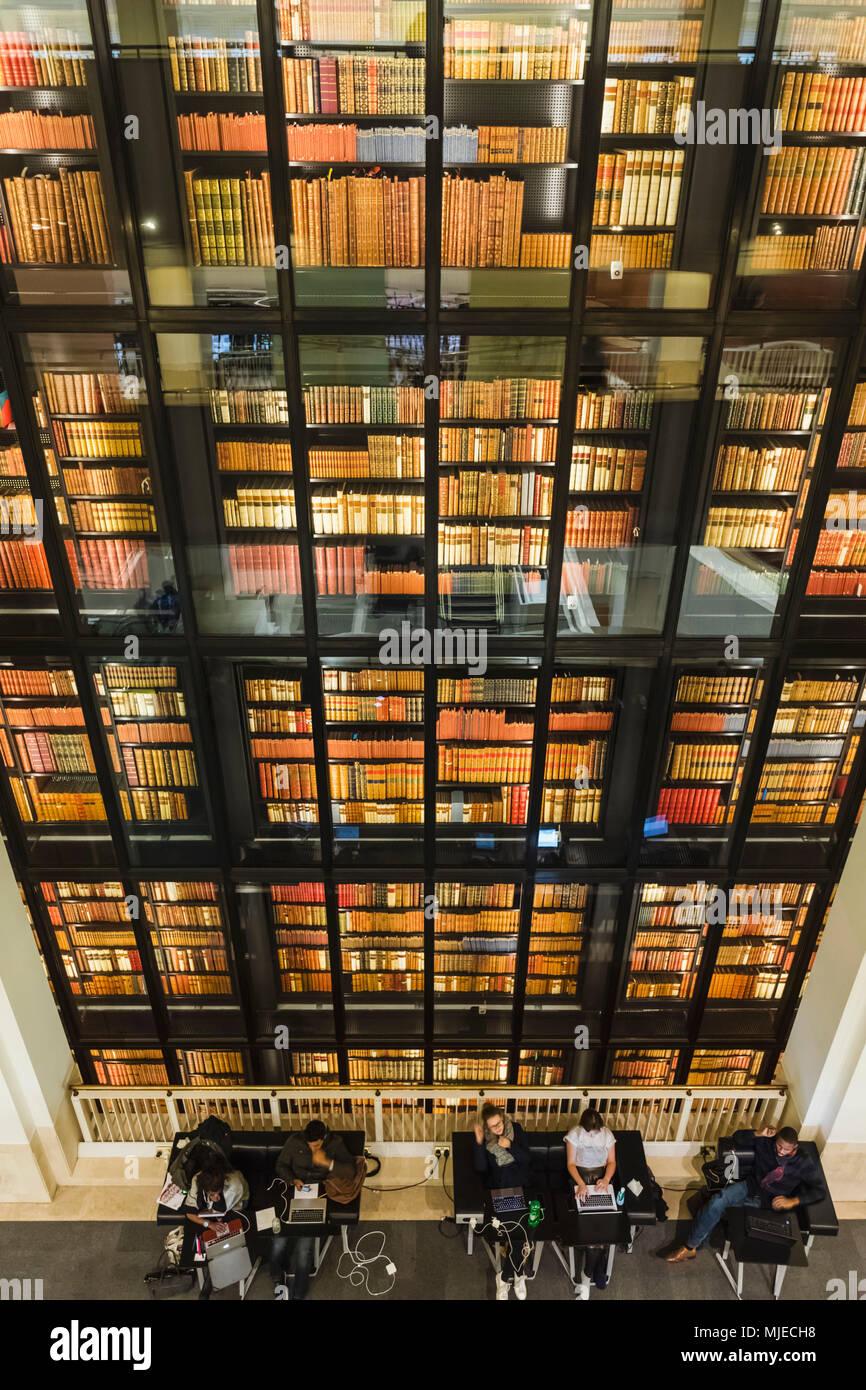 England, London, Euston Road, The British Library - Stock Image