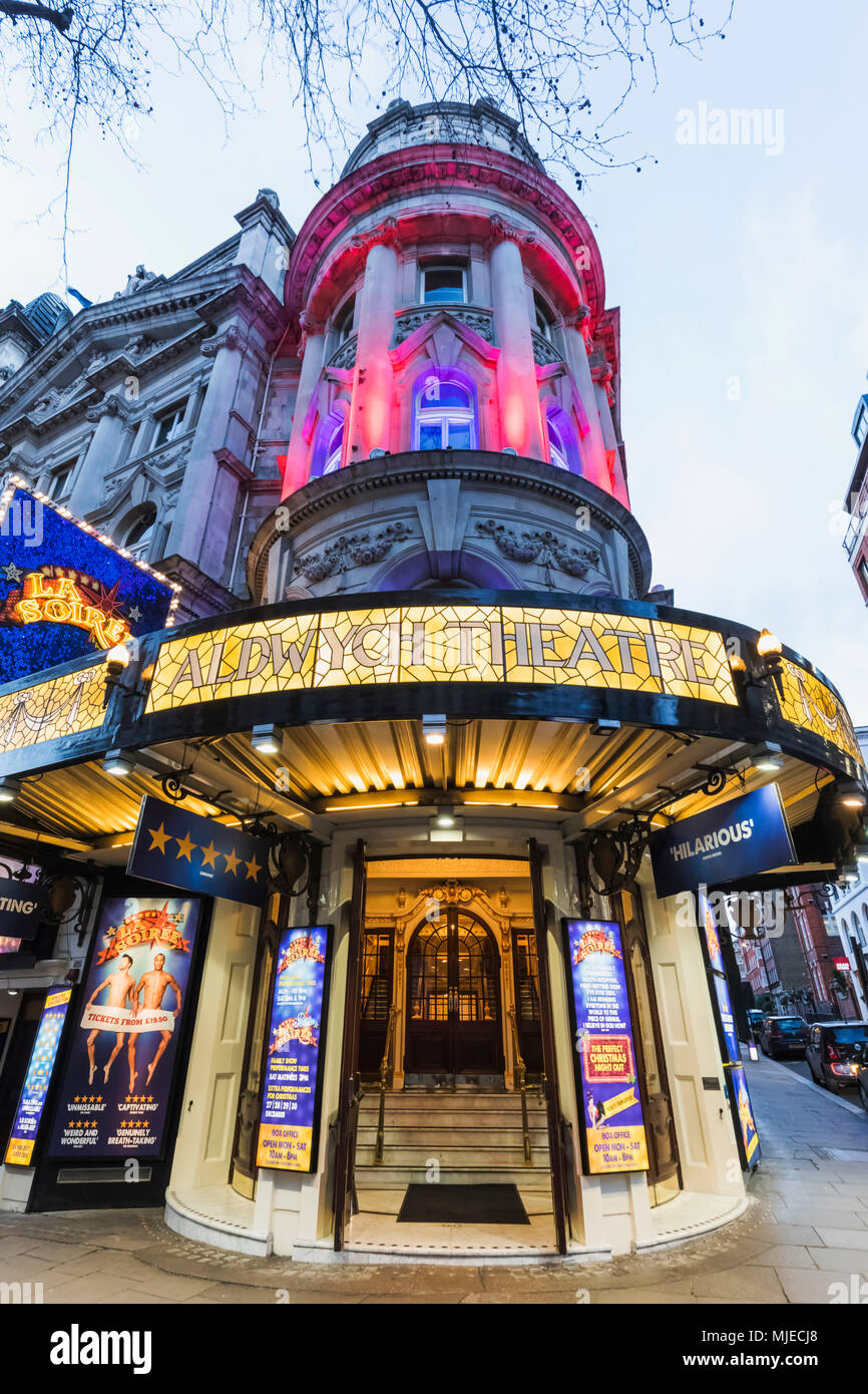England, London, Westend, Aldwych Theatre - Stock Image