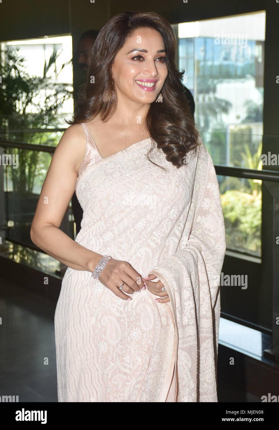 Mumbai, India  4th May, 2018  Indian film actress Madhuri