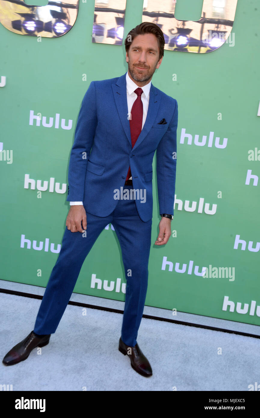 New York Ny May 02 Henrik Lundqvist Attends The Hulu Upfront