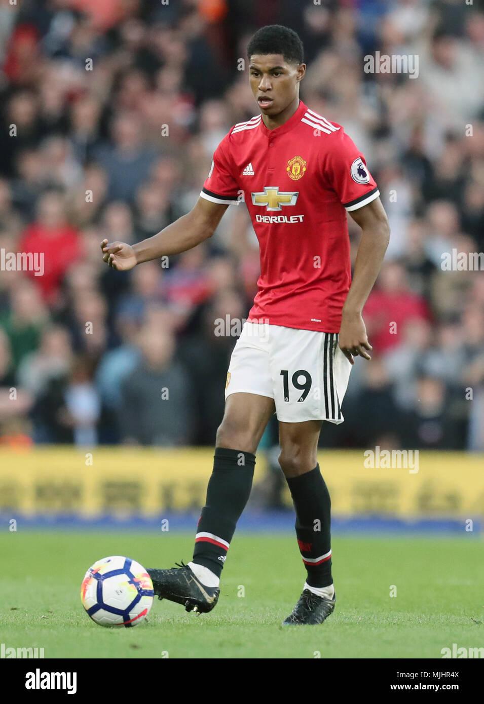 Manchester United Marcus Rashford Hd Football