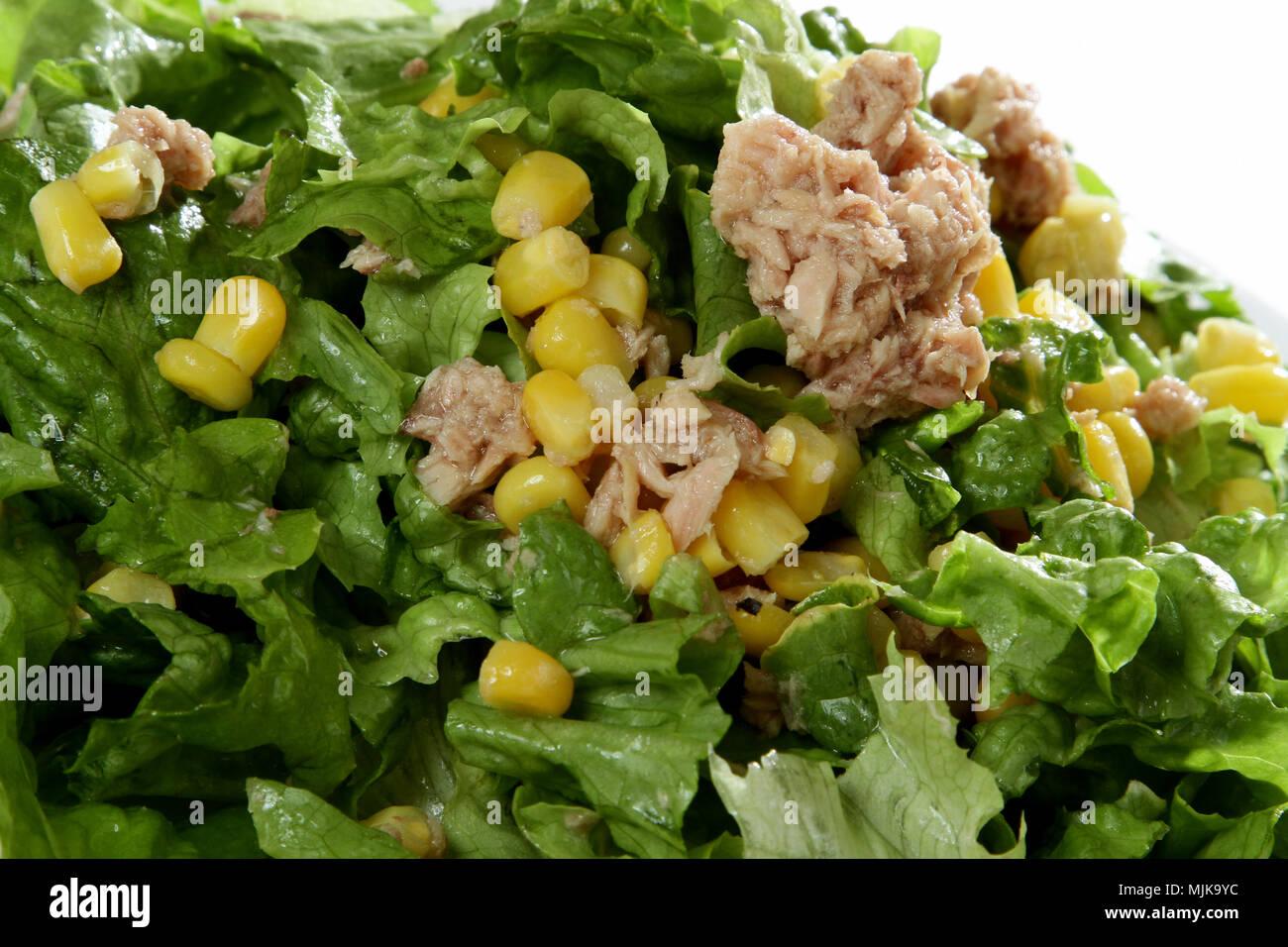 Tuna salad - Stock Image