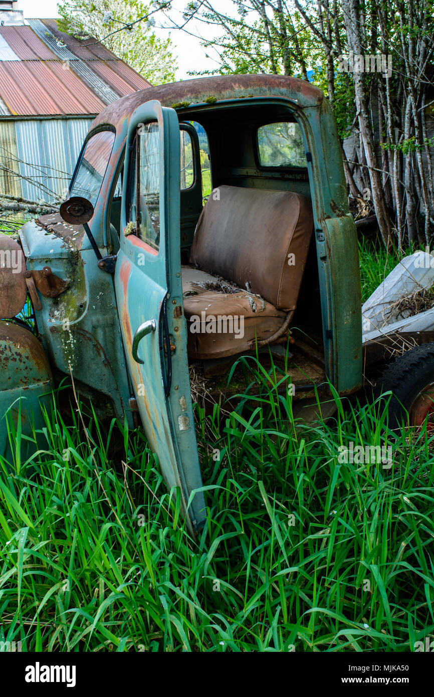 Hop In, Have a seat, lets go! - Stock Image