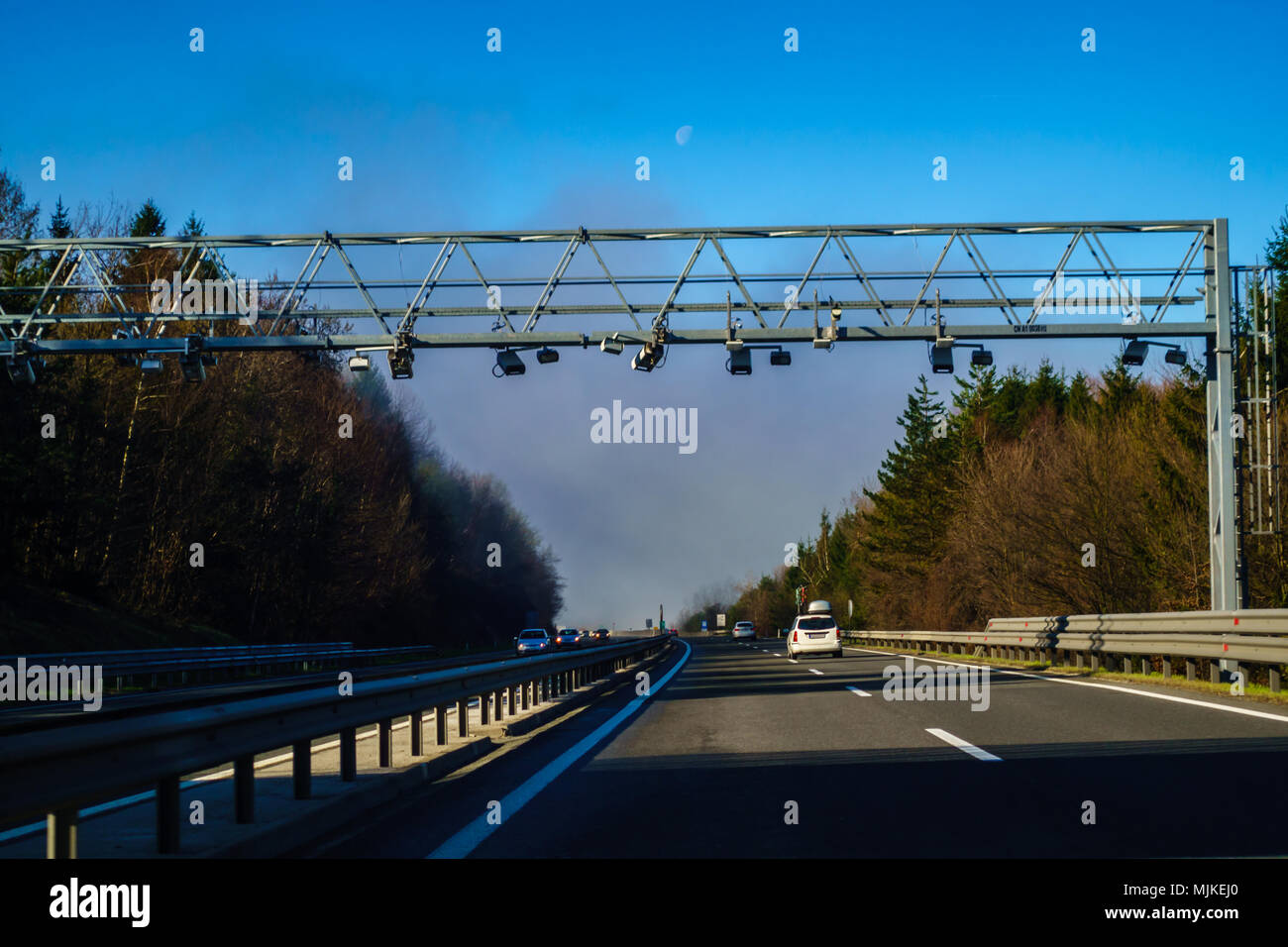 Modern Highway System Stock Photos & Modern Highway System