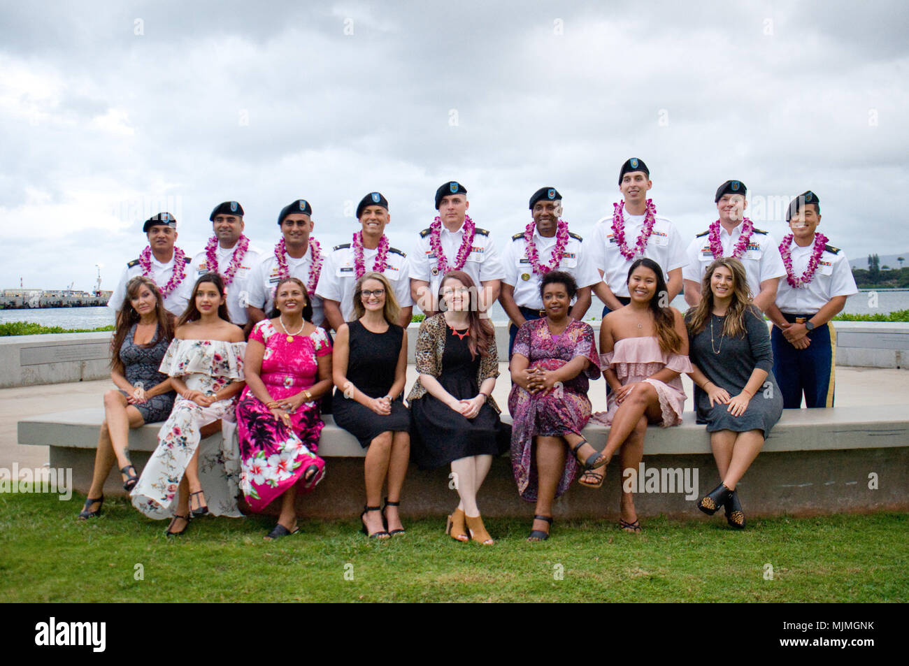JOINT BASE PEARL HARBOR-HICKAM — The graduates of the